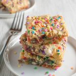 Cake Batter Bars – First Post!