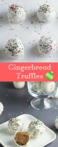 Easy Gingerbread Truffles