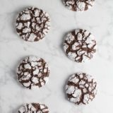 The Best Chocolate Crinkle Cookies