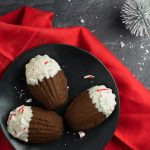 Peppermint Chocolate Madeleines