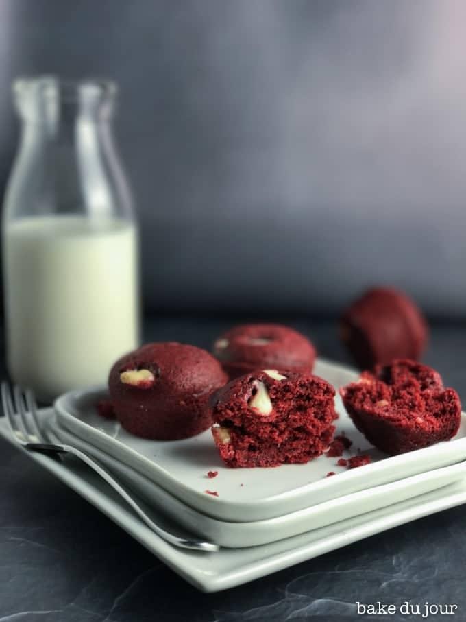 Red Velvet Mini Muffins