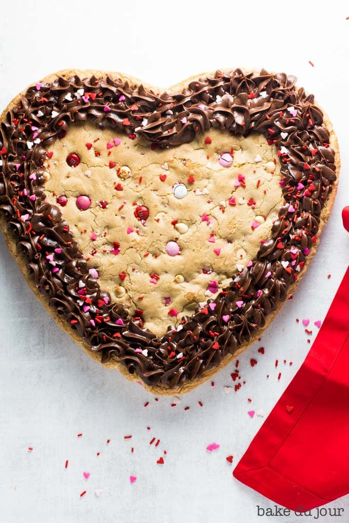 Valentine S Day Cookie Cake