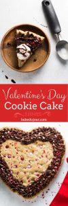 Valentine's Day Cookie Cake Pinterest