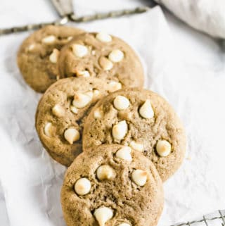 White Chocolate Chai Cookies